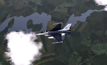 fighter jet combat sim