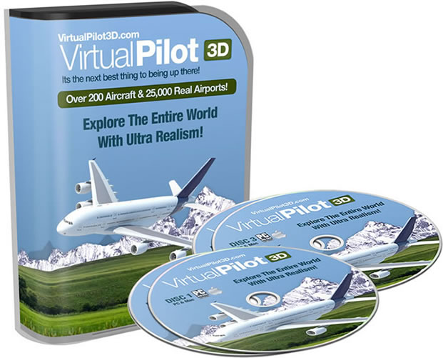 virtualpilot3d flight simulator